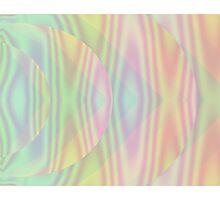 Pastel Geometry Photographic Print