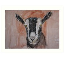 Alpine Dairy Goat Art Print
