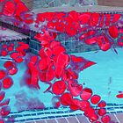 Octopus Flowers Swimming Pool by Wyldspace