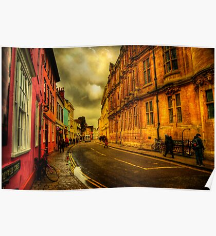Oxford Streets Poster