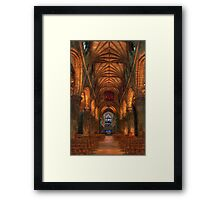St Giles Cathedral Edinburgh Internal Shot  Framed Print