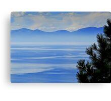Misty Morning, Tahoe Canvas Print