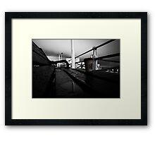 Take Away... Framed Print