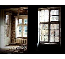 The dichotomy of light and dark ~ Pool Park Asylum Photographic Print
