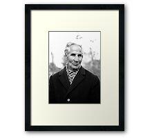 1981 - the old man Framed Print