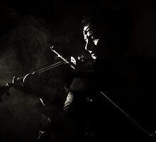 the violinist by ARTistCyberello