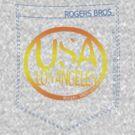 usa los angeles tshirt by rogers bros co by unitedkingdom