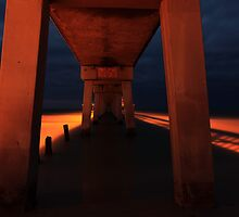 Under The Pier by kathy s gillentine