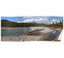 Panoramic Kananaskis II Poster