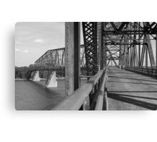 Route 66 - Chain of Rocks Bridge Canvas Print