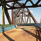 Route 66 - Chain of Rocks Bridge by Frank Romeo