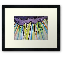 God Fears Fame (Raining Arrows 2) Framed Print