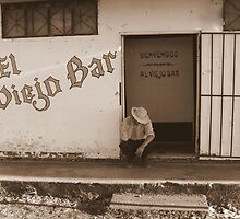 """El Viejo Bar""-The old Bar/Costa Rica by Breanna Stewart"