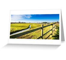 Upton Fields Greeting Card