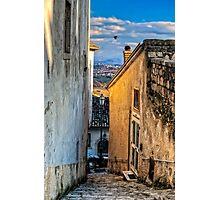 Montefusco alley Photographic Print
