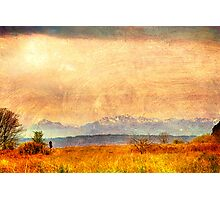 Painted Light, View from Discovery Park, Seattle Washington Photographic Print