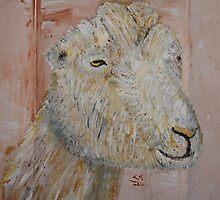 Lamancha Dairy Goat by echoesofheaven