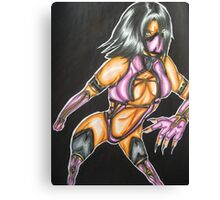 Mileena: HAHA! Let us Dance! Canvas Print