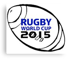 Rugby world cup 2015 Canvas Print