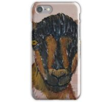 Oberhasli Dairy Goat iPhone Case/Skin
