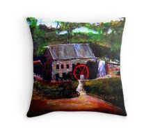 NEW ENGLIND GRIS MILL Throw Pillow