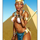 Queen Nefertiti by Keddy Davis