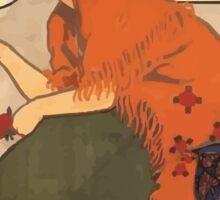 Affiche Armand Rassenfosse Sticker