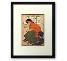 Affiche Armand Rassenfosse Framed Print