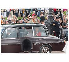 Royal family car Poster