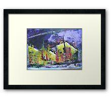 Night Elements Framed Print