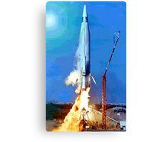 Missile Launch Canvas Print