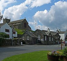 Hawkshead Village by Tom Gomez