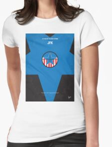 No111 My JFK minimal movie poster Womens Fitted T-Shirt