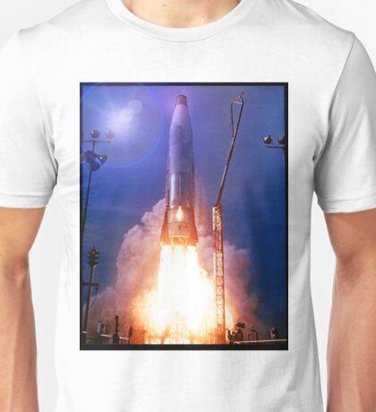 Atlas Missile Launch Unisex T-Shirt