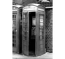 1982 - london: call me! Photographic Print