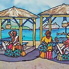 Caribbean Bag Sellers by Patricia Sabin