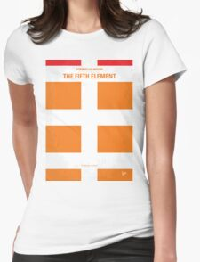 No112 My Fifth Element minimal movie poster Womens Fitted T-Shirt