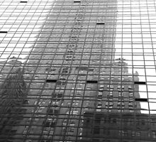 Reflections of The Chrysler Building by Celia Strainge