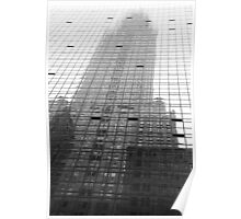 Reflections of The Chrysler Building Poster