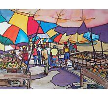 Barbados Market Photographic Print