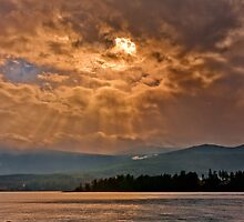 WINTER SUN RAYS  by Sandy Stewart