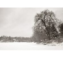 Snowstorm on Grenadier Pond Photographic Print