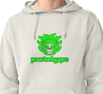 Protohype Logo - Green Pullover Hoodie