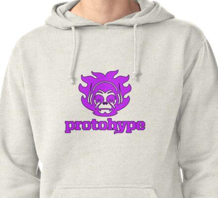 Protohype Logo - Purple Pullover Hoodie