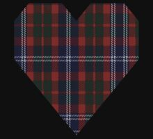 00534 Black Watch (Piper) Tartan  Kids Tee
