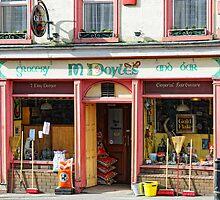 Doyles Grocery Pub, Graiguenamanagh, County Kilkenny, Ireland by Andrew Jones