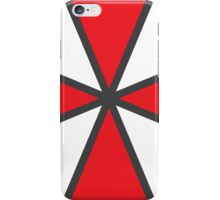 No119 My RESIDENT EVIL minimal movie poster iPhone Case/Skin