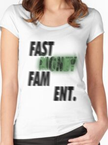 Commission: Fast Money Fam Ent. Women's Fitted Scoop T-Shirt