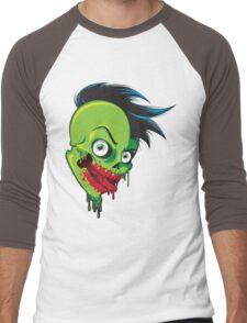 Monster Head Men's Baseball ¾ T-Shirt