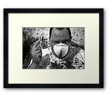 The Doctor's In Framed Print